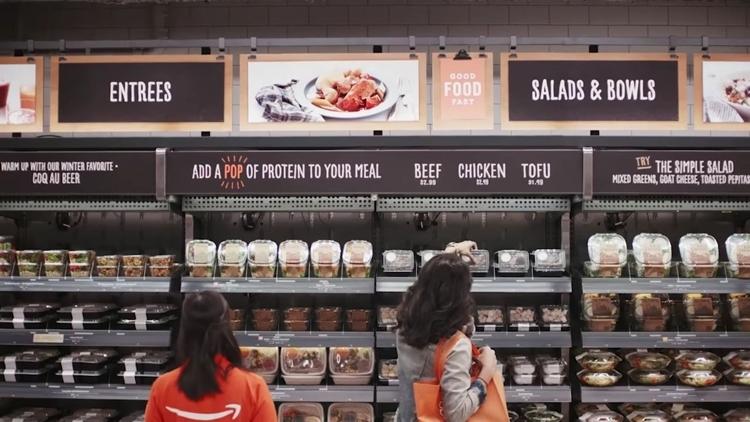 Открытие первого магазина Amazon без кассиров задержится из-за технических проблем
