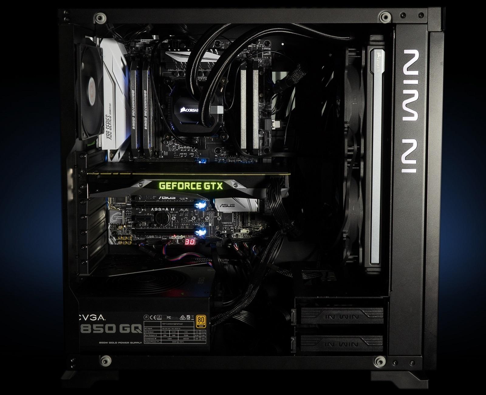оптимальная сборка игрового компьютера 2017