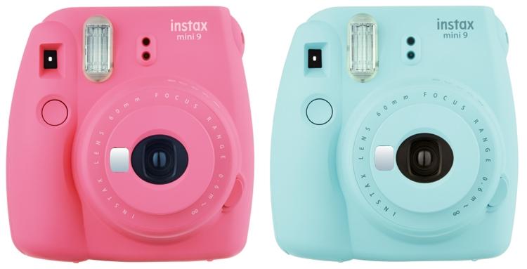 """Fujifilm Instax mini 9: камера моментальной печати сзеркальцемдля селфи-съёмки"""""""