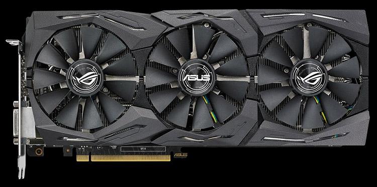 ASUS ROG Strix GeForce GTX 1080 OC 8GB 11Gbps (ROG-STRIX-GTX1080-O8G-11GBPS)