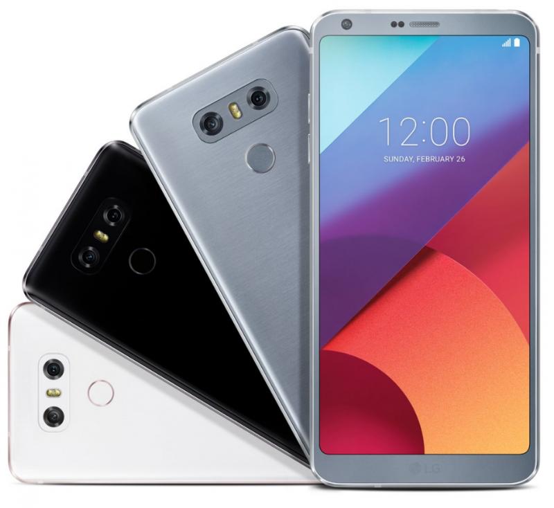 LG G6 не блеснул оригинальными цветами