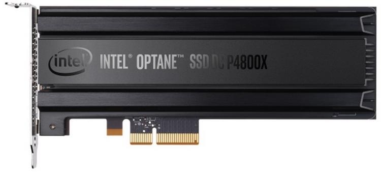 Идейный предшественник 900P: серверный накопитель DC P4800X