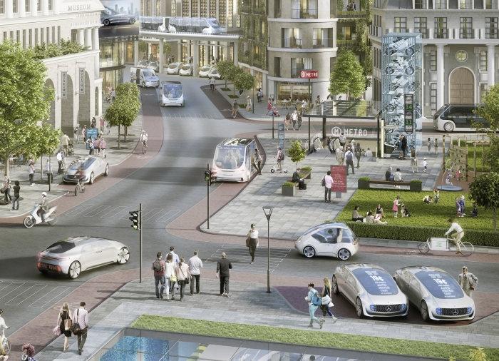 """Daimler и Bosch запустят полностью автономные автомобили к началу следующего десятилетия"""""""