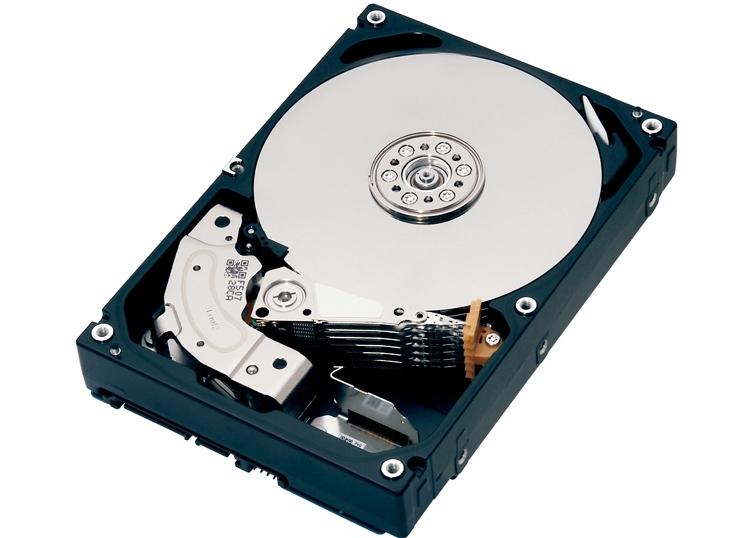 Новый жёсткий диск Toshiba корпоративного класса имеет ёмкость 8 Тбайт