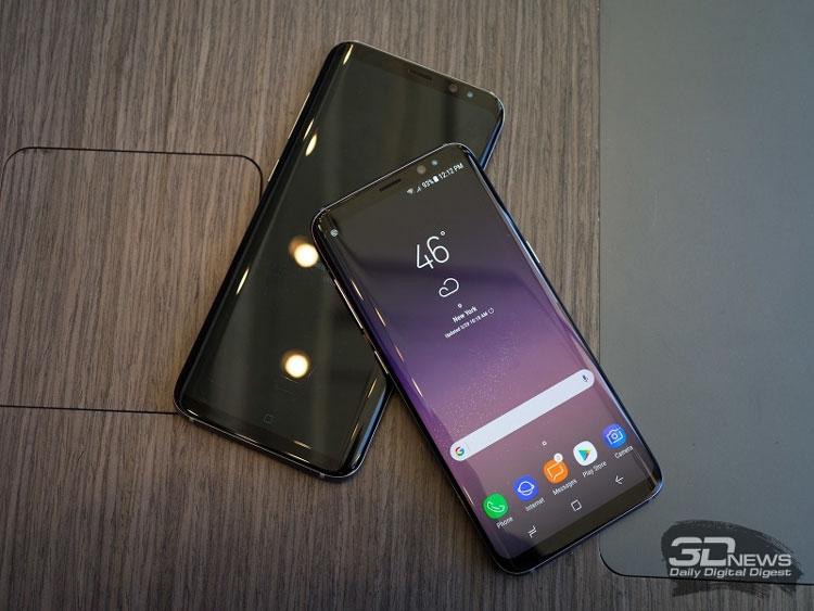 Galaxy S8 и Galaxy S8+ с экранами AMOLED
