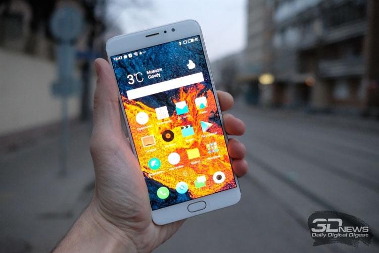 Meizu Pro 6 Plus с экраном AMOLED