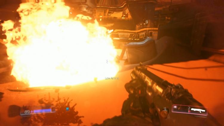 Doom — хороший пример игры, которая снижает разрешение для достижения постоянной частоты в 60 кадров/с