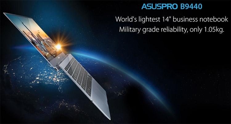Бизнес-ноутбук ASUSPRO B9440UA