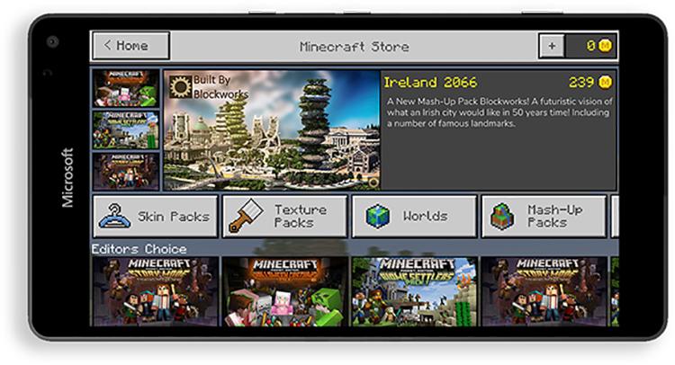 ВMinecraft появится магазин пользовательских модификаций