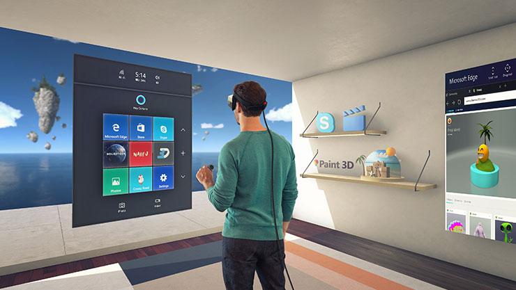 В Creators Update компания Microsoft сделала упор на трёхмерные технологии