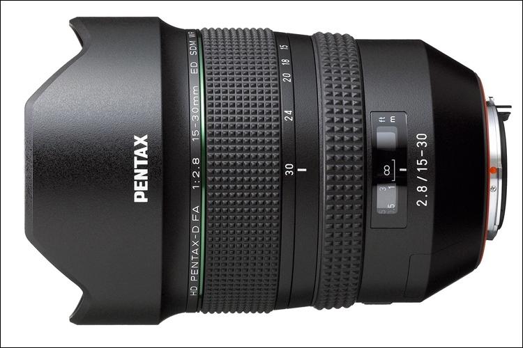 Сменный объектив HD Pentax-D FA 15-30mm f/2.8ED SDM WR