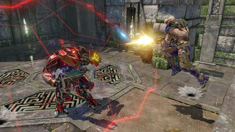 Список героев Quake Champions пополнил робот-шахтёр Clutch