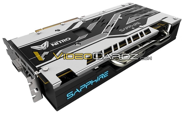 Видеокарта Sapphire Radeon RX 580 8GB Nitro+
