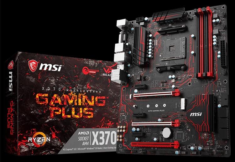 Материнская плата MSI X370 Gaming Plus