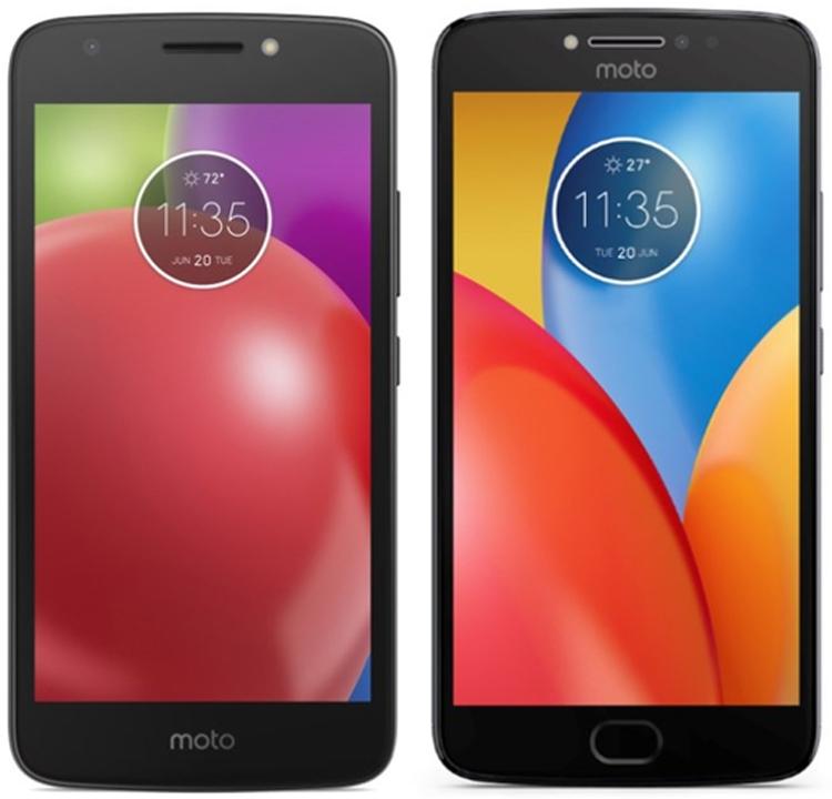 Смартфоны Moto E4 и Moto E4 Plus