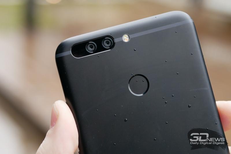 Honor 8 Pro, модуль камеры и вспышка