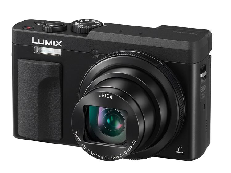 Компактный фотоаппарат Panasonic Lumix DC-TZ90 оснащён 30-кратным зумом