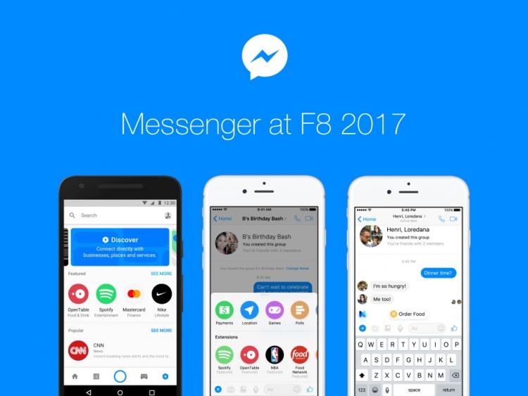27f824ac Новые расширения для чата (Chat Extensions) позволяют использовать ботов в  групповых переписках. Благодаря этому вместе с другими людьми можно  бронировать ...