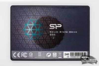 Обзор SSD-накопителя Silicon Power Slim S55: версия 2017 года, c 3D-эффектами