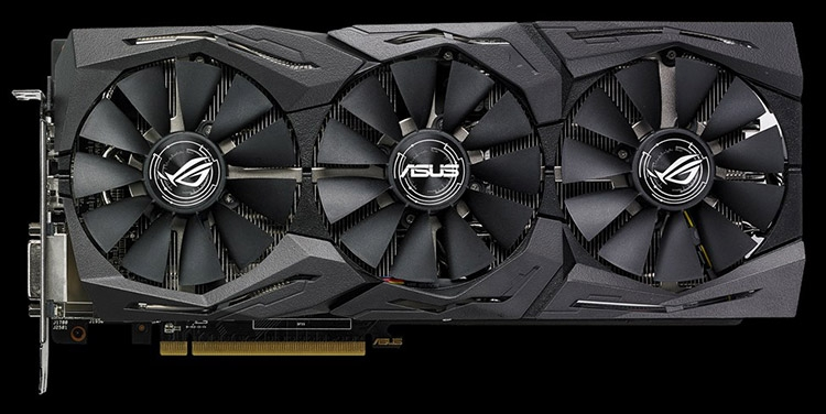 Видеокарта ASUS ROG Strix TOP (ROG-STRIX-RX580-T8G-GAMING)