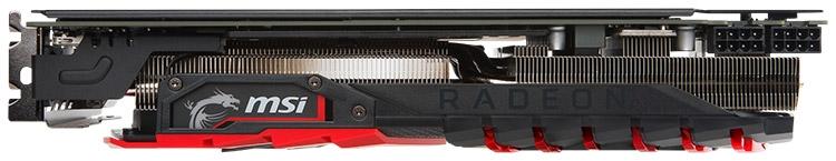Видеокарта MSI Radeon RX 580 Gaming X+ 8G OC