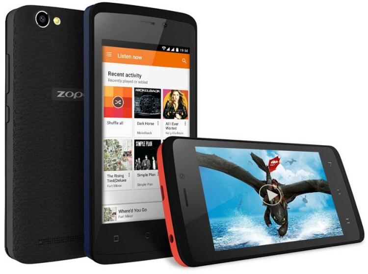 """Zopo Color M4: бюджетный смартфон с 4"""" экраном и 4G LTE"""