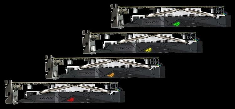 Видеокарта ASUS ROG Strix Radeon RX 560 OC (ROG-STRIX-RX560-O4G-GAMING)