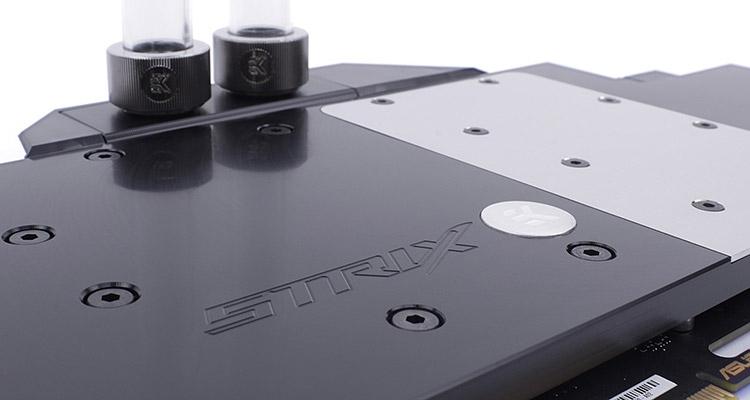 Водоблок EK-FC1080 GTX Ti Strix
