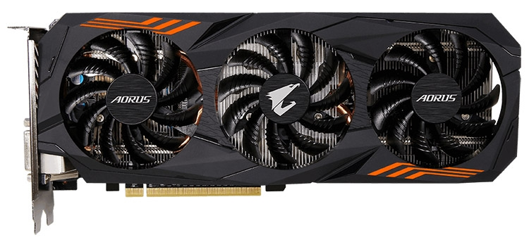 Видеокарта Gigabyte Aorus GeForce GTX 1060 6G 9Gbps (GV-N1060AORUS-6GD)