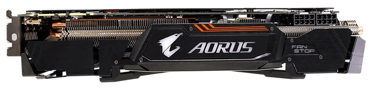 Видеокарта Gigabyte Aorus GeForce GTX 1080 Xtreme Edition 8G 11Gbps (GV-N1080AORUS X11-8GD)