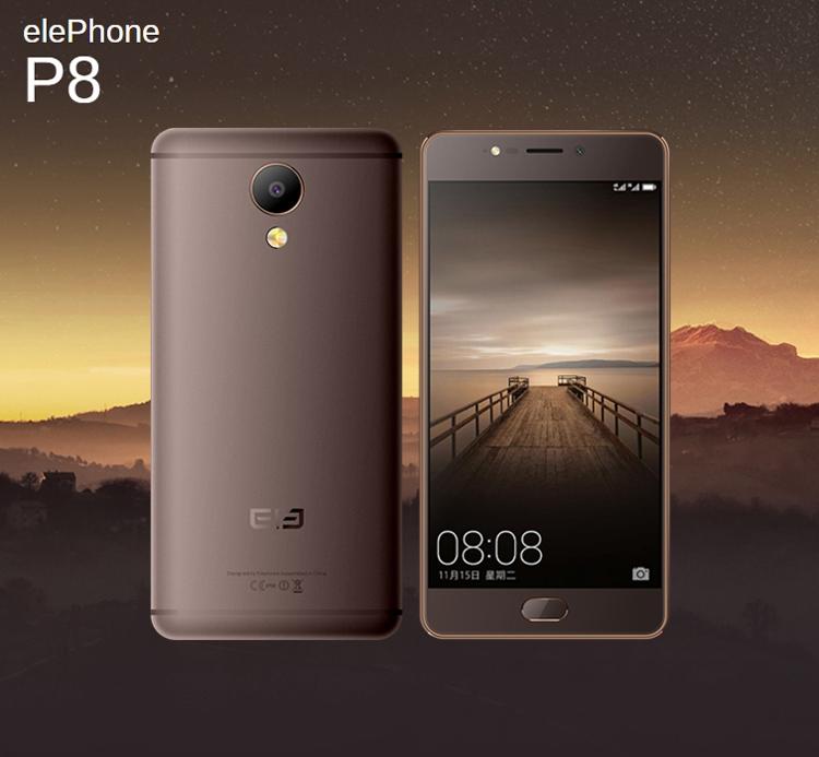 Смартфоны Elephone P8 и P8 Mini