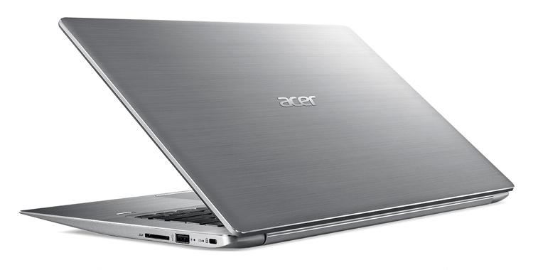 """Новые ноутбуки Acer Swift 3 и Swift 1 получили экран Full HD"""""""