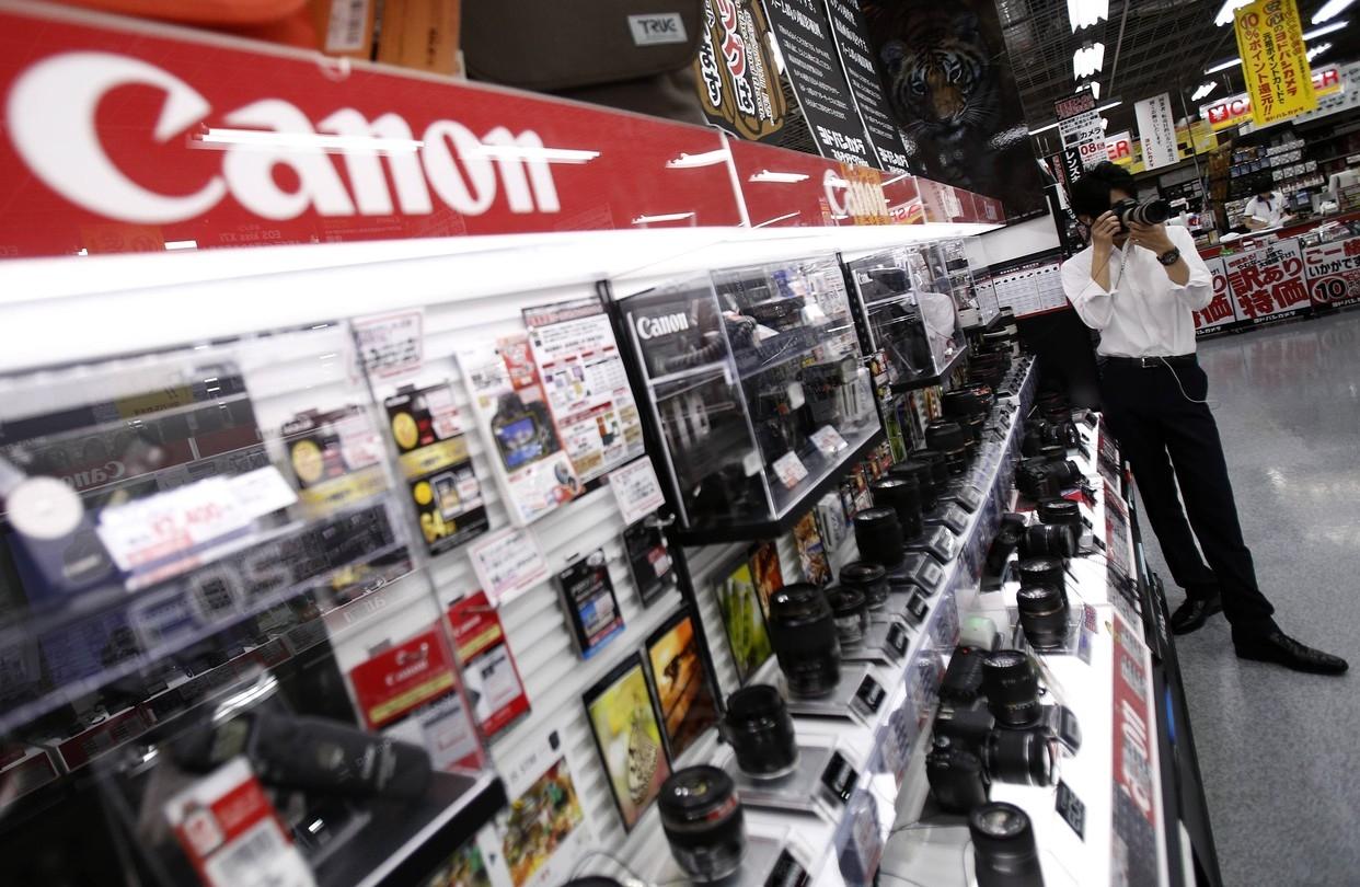 Прибыль Canon выросла вдвое после покупок на $8,6 млрд