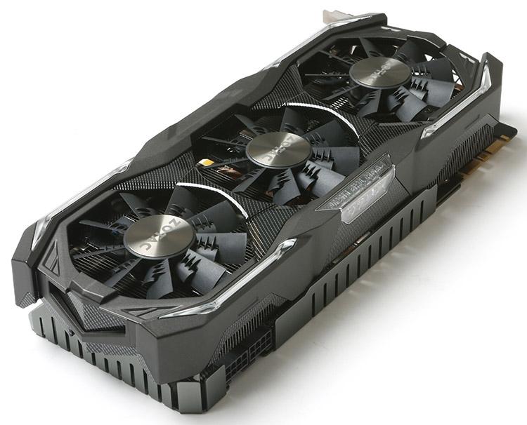ZOTAC GeForce GTX 1080 AMP Extreme+ (ZT-P10800I-10P)
