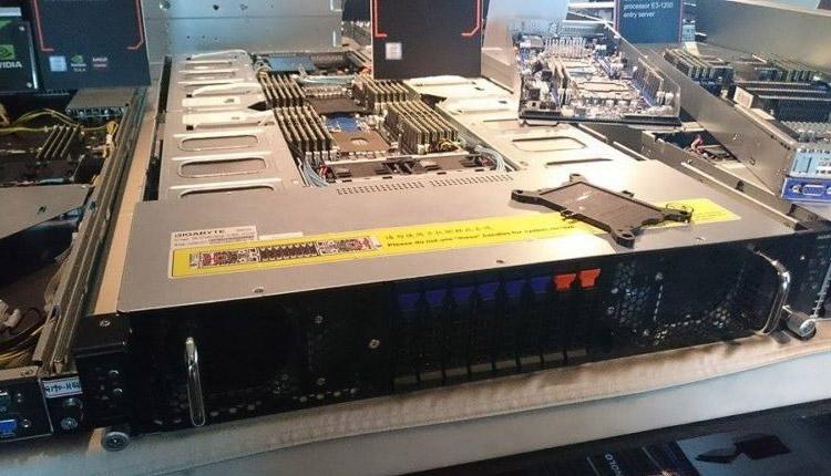 Серверный узел LGA3647, фото eTeknix.com