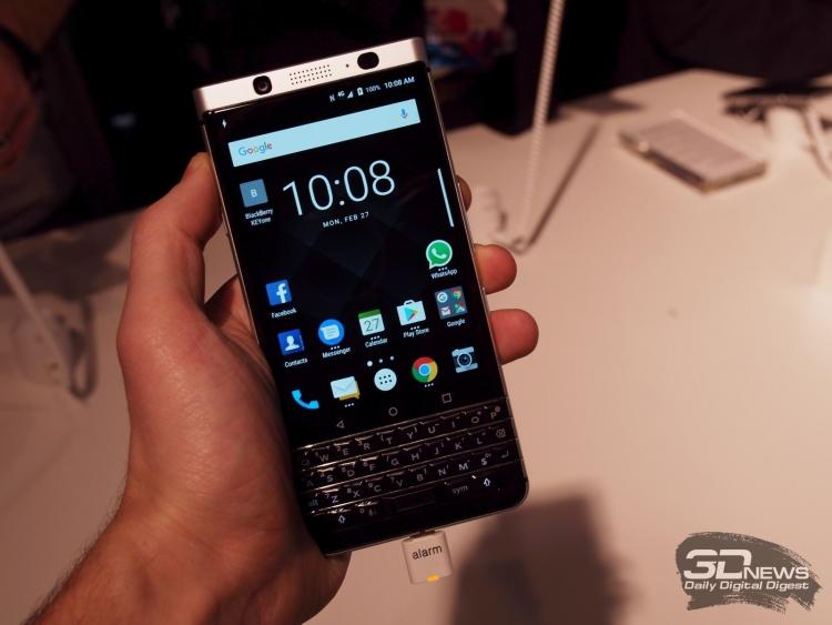 Смартфон BlackBerry KEYone выйдет 31 мая