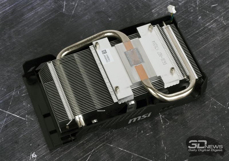 Кулер MSI GeForce GTX 1060 Aero ITX 6G OC
