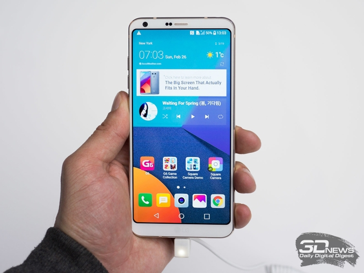 LG готовит смартфон G6 Mini — уменьшенную версию флагмана