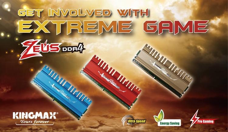 ddr1 - Kingmax выпустила новые модули памяти Zeus DDR4 для игровых ПК
