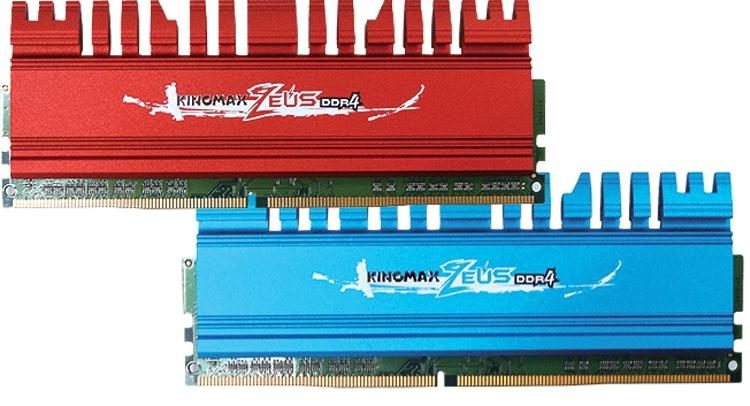 ddr2 - Kingmax выпустила новые модули памяти Zeus DDR4 для игровых ПК