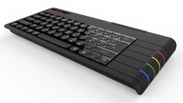 zx1 - Проект компьютера-клавиатуры ZX Spectrum Next привлёк более полумиллиона долларов
