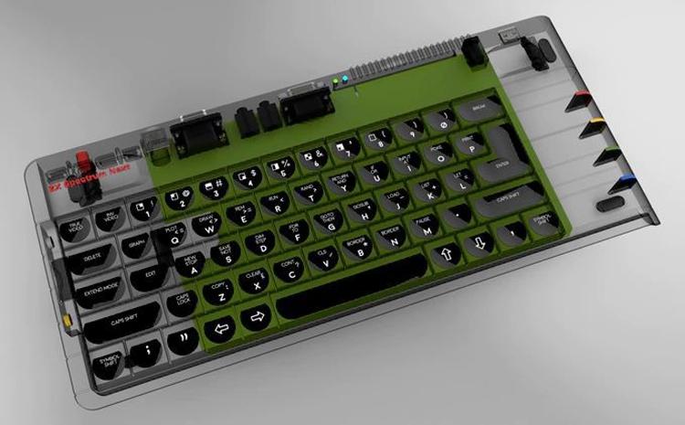 zx3 - Проект компьютера-клавиатуры ZX Spectrum Next привлёк более полумиллиона долларов