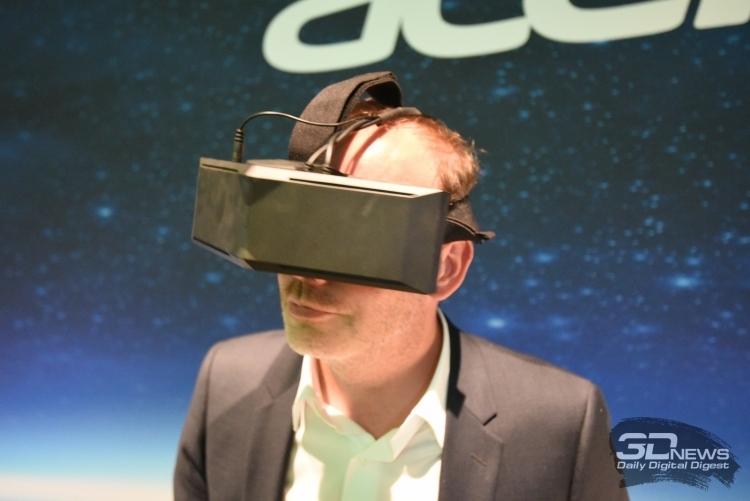 Acer отгрузила около 1000 шлемов с поддержкой Windows Holographic