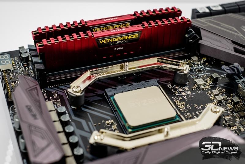 AMD Ryzen 7 1800X и набор оперативной памяти DDR4-3200