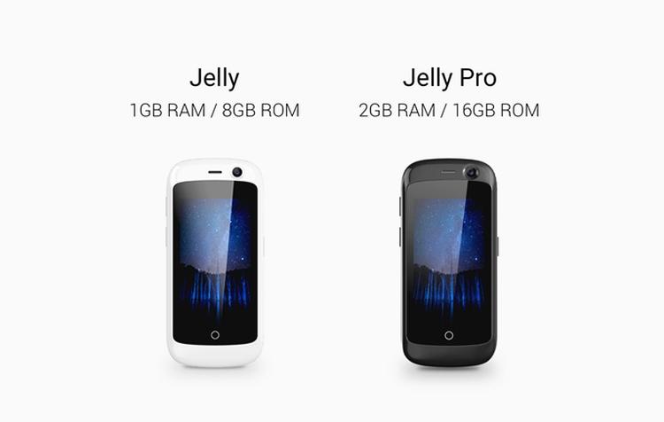 jelly3 - Разработчики называют Jelly самым маленьким в мире Android-смартфоном с поддержкой 4G