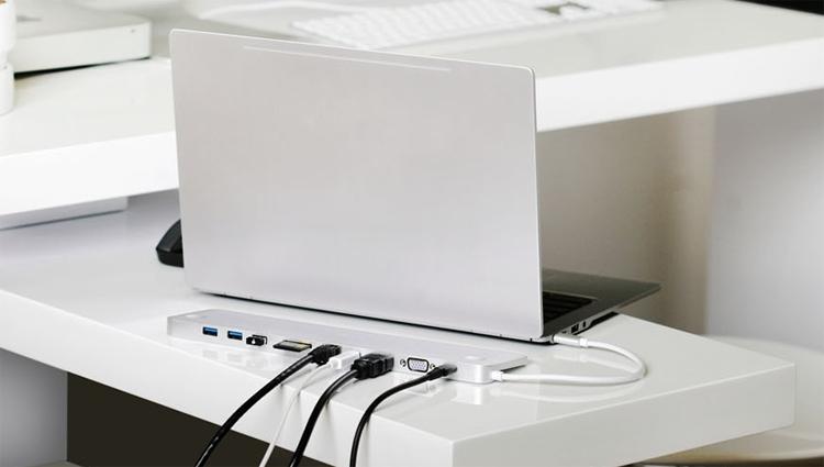 GUD3C02 2 - Ультратонкая док-станция IOGEAR оснащена интерфейсом USB Type-C
