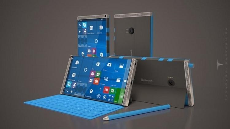 Как будет выглядеть Surface Phone, пока не знает никто, но желающих пофантазировать дизайнеров на эту тему хватает