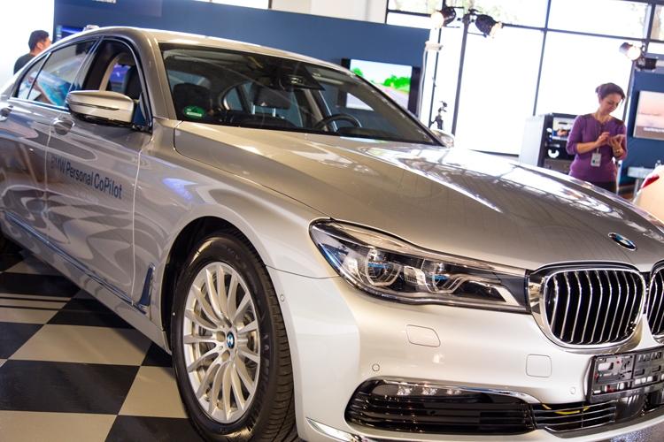БМВ представила свой 1-ый беспилотный автомобиль