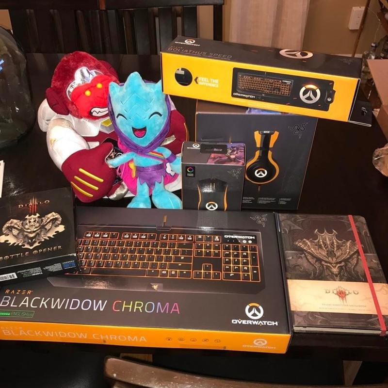 Blizzard Entertainment щедро вознаградила игрока, который