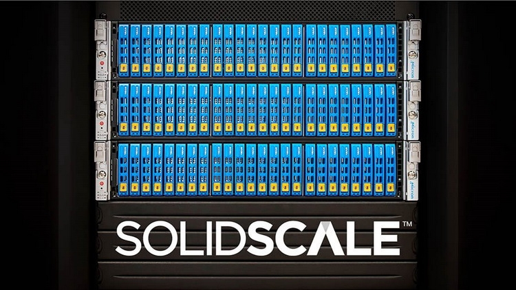Micron представила архитектуру SolidScale NVMe Over Fiber